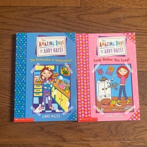 The Amazing Days of Abby Hayes books x2